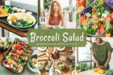 Last preview image of Broccoli Salad Mobile & Desktop Lightroom Presets