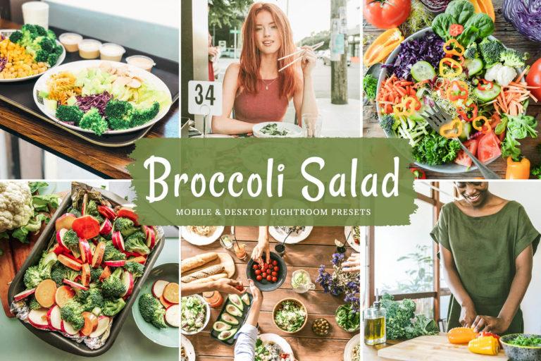 Preview image of Broccoli Salad Mobile & Desktop Lightroom Presets