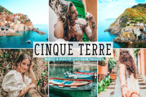 Cinque Terre Mobile & Desktop Lightroom Presets