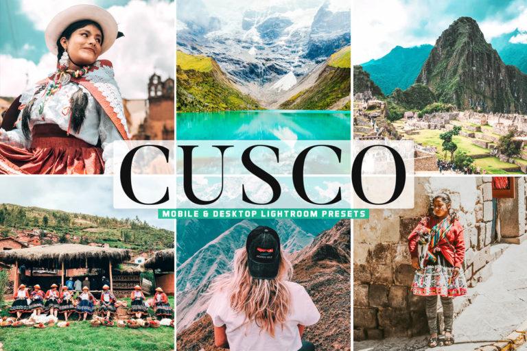 Preview image of Cusco Mobile & Desktop Lightroom Presets