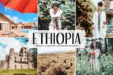 Last preview image of Ethiopia Mobile & Desktop Lightroom Presets