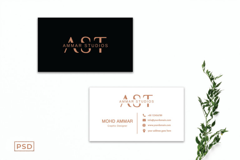 Preview image of Minimal Creative Business Card Template Vol. 3