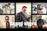 Last preview image of Grand Theft Photoshop Actions