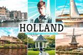 Last preview image of Holland Mobile & Desktop Lightroom Presets