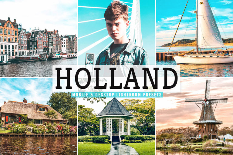Preview image of Holland Mobile & Desktop Lightroom Presets