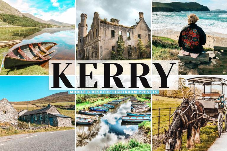 Preview image of Kerry Mobile & Desktop Lightroom Presets