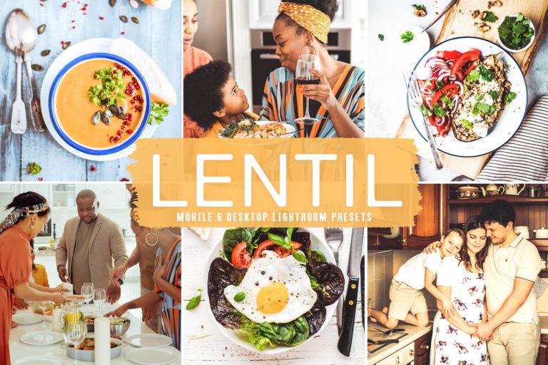 Preview image of Lentil Mobile & Desktop Lightroom Presets