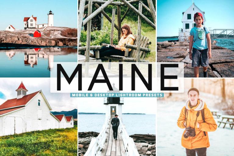 Preview image of Maine Mobile & Desktop Lightroom Presets