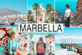 Last preview image of Marbella Mobile & Desktop Lightroom Presets