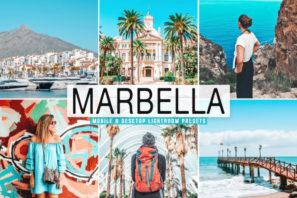 Marbella Mobile & Desktop Lightroom Presets