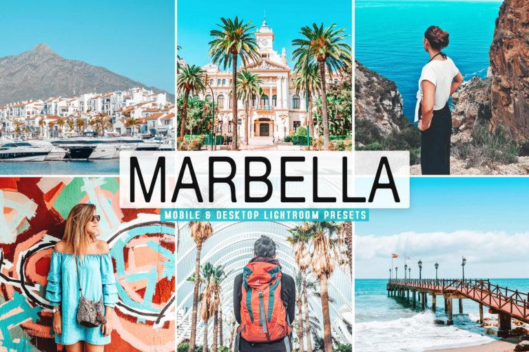 Preview image of Marbella Mobile & Desktop Lightroom Presets