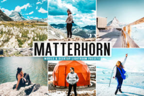 Matterhorn Mobile & Desktop Lightroom Presets