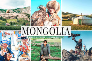 Mongolia Mobile & Desktop Lightroom Presets