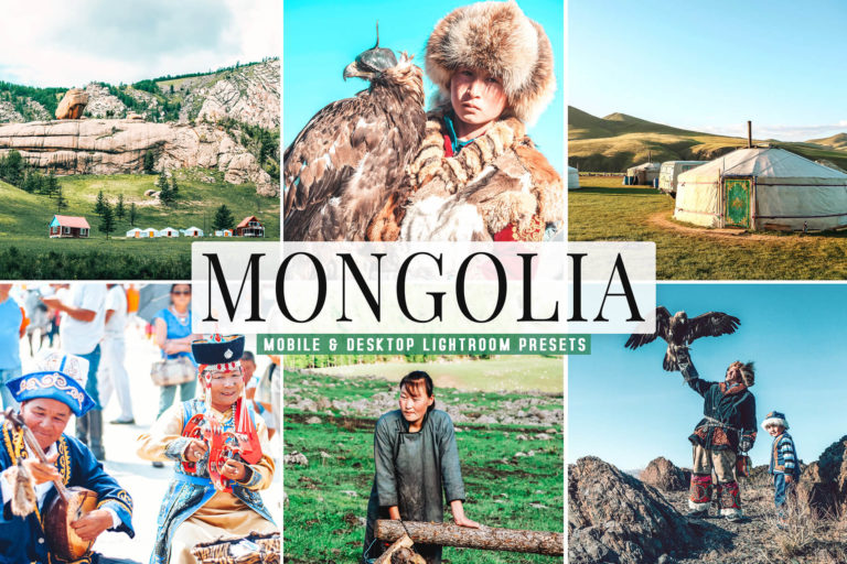 Preview image of Mongolia Mobile & Desktop Lightroom Presets