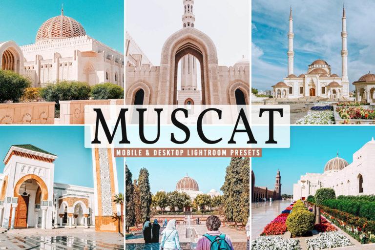 Preview image of Muscat Mobile & Desktop Lightroom Presets