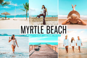 Myrtle Beach Mobile & Desktop Lightroom Presets