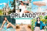 Last preview image of Orlando Mobile & Desktop Lightroom Presets