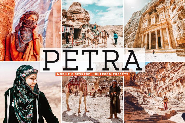 Preview image of Petra Mobile & Desktop Lightroom Presets