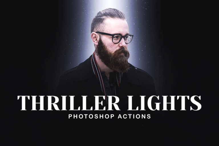 Preview image of Thriller Lights Photoshop Actions