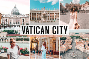 Vatican City Mobile & Desktop Lightroom Presets
