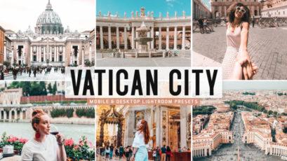 Vatican City Mobile & Desktop Lightroom Presets