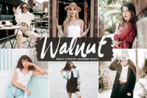 Walnut Mobile & Desktop Lightroom Presets