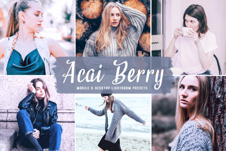 Preview image of Acai Berry Mobile & Desktop Lightroom Presets