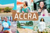 Last preview image of Accra Mobile & Desktop Lightroom Presets