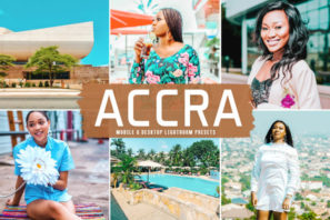 Accra Mobile & Desktop Lightroom Presets