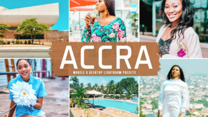 Accra Mobile & Desktop Lightroom Presets