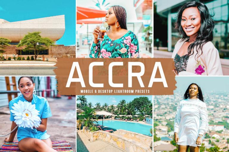 Preview image of Accra Mobile & Desktop Lightroom Presets