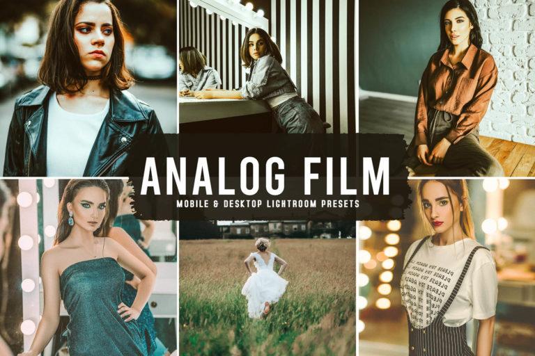 Preview image of Analog Film Mobile & Desktop Lightroom Presets