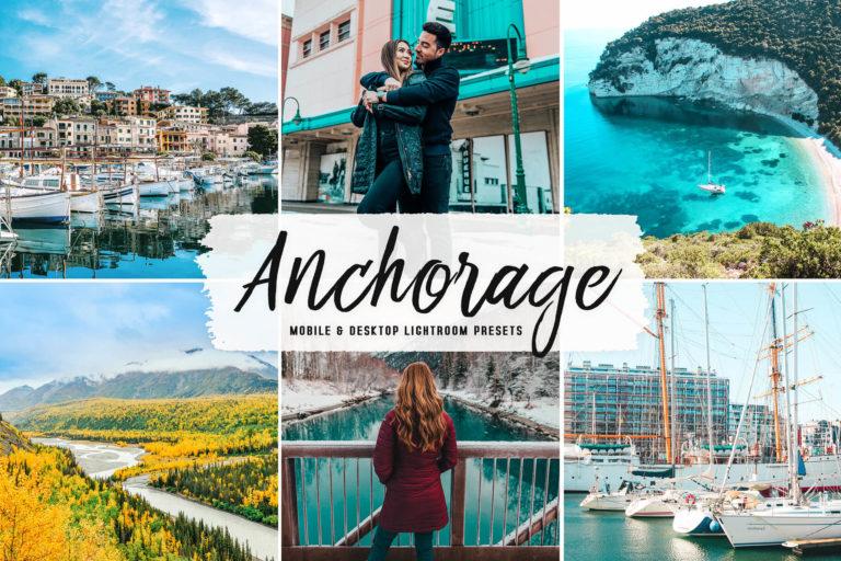 Preview image of Anchorage Mobile & Desktop Lightroom Presets