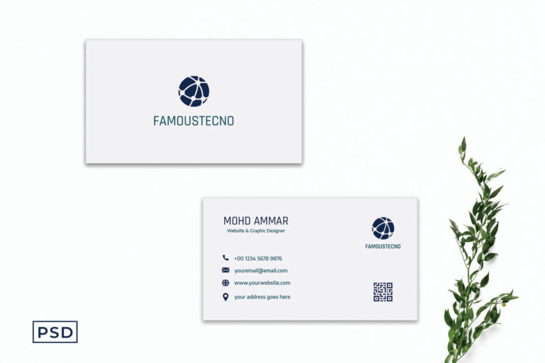 Preview image of Attractive Minimal Business Card Template