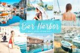 Last preview image of Bar Harbor Mobile & Desktop Lightroom Presets