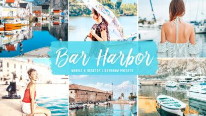 Bar Harbor Mobile & Desktop Lightroom Presets