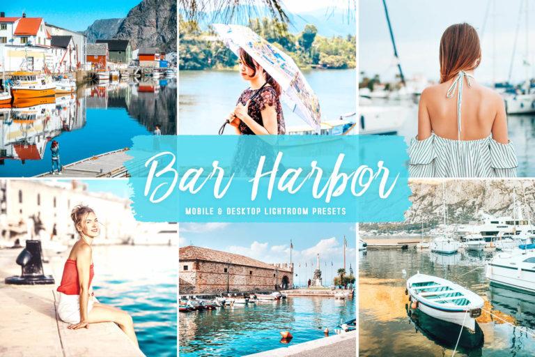 Preview image of Bar Harbor Mobile & Desktop Lightroom Presets