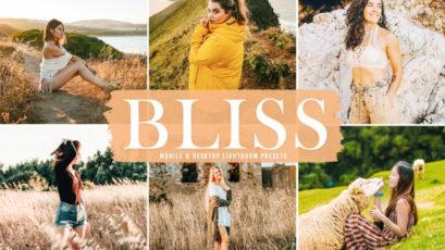 Bliss Mobile & Desktop Lightroom Presets