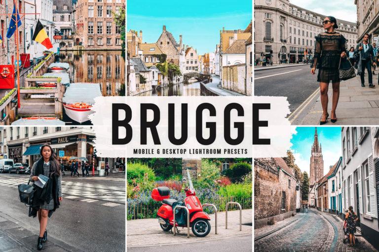 Preview image of Brugge Mobile & Desktop Lightroom Presets