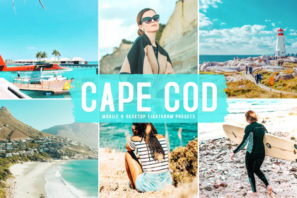 Cape Cod Mobile & Desktop Lightroom Presets