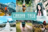 Last preview image of Chadar Trek Mobile & Desktop Lightroom Presets