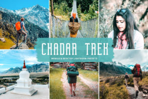 Chadar Trek Mobile & Desktop Lightroom Presets