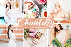 Chantilly Mobile & Desktop Lightroom Presets