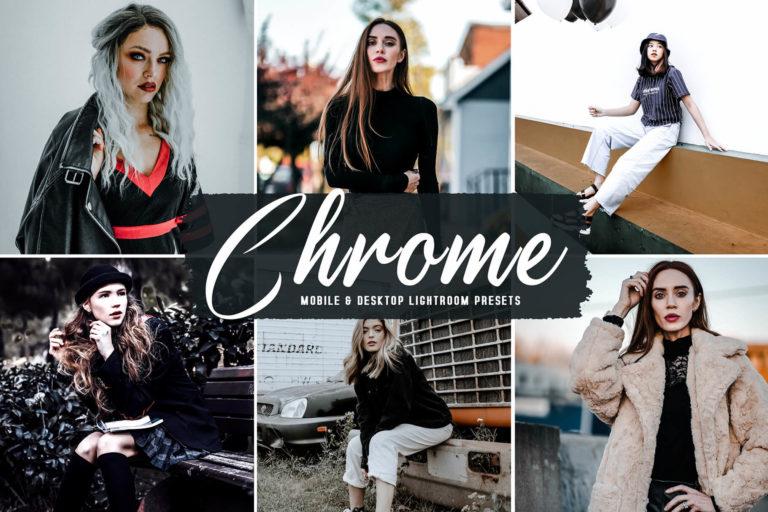 Preview image of Chrome Mobile & Desktop Lightroom Presets