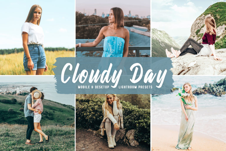 Preview image of Cloudy Day Mobile & Desktop Lightroom Presets