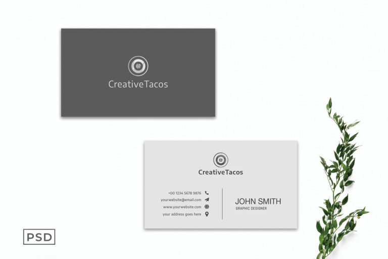 Preview image of Creative Minimal Business Card Template