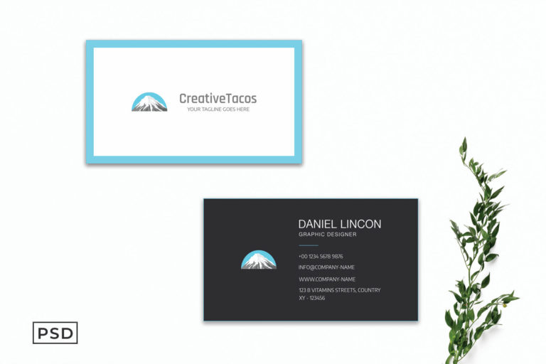 Preview image of Creative Sober Business Card Template V2