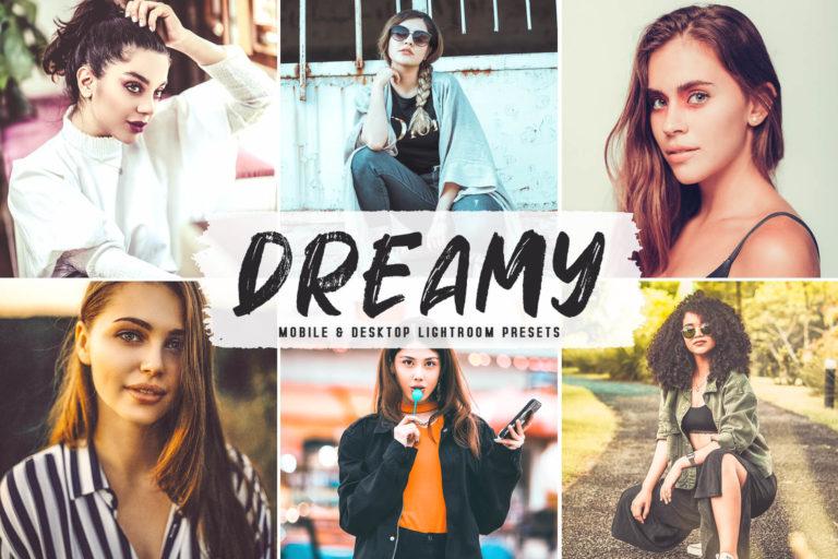 Preview image of Dreamy Mobile & Desktop Lightroom Presets