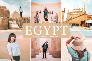 Egypt Mobile & Desktop Lightroom Presets