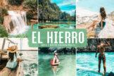 Last preview image of El Hierro Mobile & Desktop Lightroom Presets